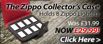 The Zippo 8 Lighter Collectors Case - The Lighter Shop