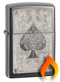 Black Ice Zippo Lighters