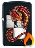 Chinese Themed Zippo Lighters