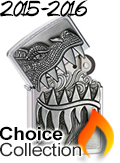 2015-2016 Zippo Choice Collection
