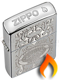 Crown Stamped Zippo Lighters