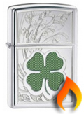 Luck Themed Zippo Lighters