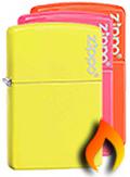 Neon Zippo Lighters