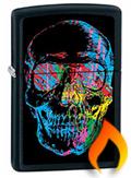 Skull Zippo Lighters