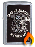 Sons Of Anarchy Zippo Lighters
