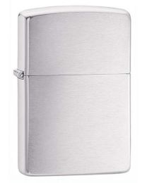 Brushed Chrome Armor Zippo Lighter 162