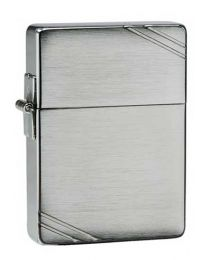 1935 Replica Zippo Lighter in Brushed Chrome