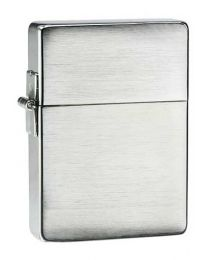 1935 Plain Replica Zippo Lighter in Brushed Chrome