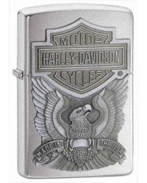 Harley Davidson Made in the USA Chrome Zippo Lighter