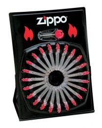 Box of 24 x Zippo Flint Dispensers (Total of 144 Flints) BULK BUY