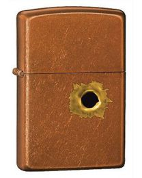 BS Bullet Hole Toffee Zippo Lighter 24717