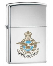 Royal Air Force Chrome Zippo Lighter 250RAF