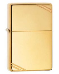 Vintage High Polished Brass Zippo Lighter 270