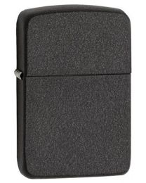 1941 Replica Black Crackle Zippo Lighter - Plain 28582