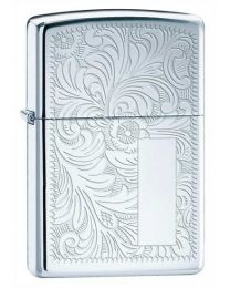 Venetian High Polished Chrome Zippo Lighter 352