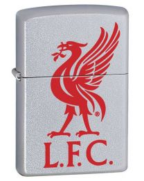 Liverpool FC Official Zippo Lighter (Satin Chrome) 60000355