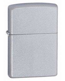 Satin Chrome Zippo Lighter 205