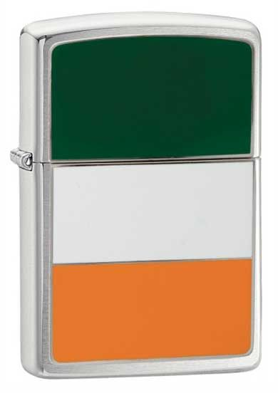 Ireland Flag Zippo Lighter 200IRE - TheLighterShop.co.uk