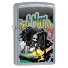 Bob Marley Guitar Zippo Lighter in Street Chrome 29307