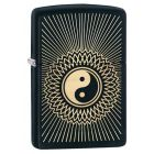 Yin Yang 2 Zippo Lighter in Matte Black 29423