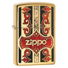 Zippo Fusion Zippo Lighter in Polished Brass 29510