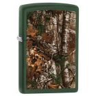 Realtree Xtra Zippo Lighter in Green Matte 29585