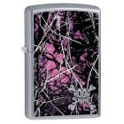 Moon Shine Camo Muddy Girl Zippo Lighter in Street Chrome 29591
