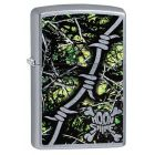 Moon Shine Camo Toxic Zippo Lighter in Street Chrome 29593