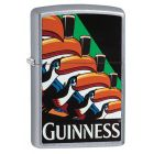 Guinness Toucans Zippo Lighter in Street Chrome 29647