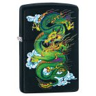 Dragon Zippo Lighter in Matte Black 29839