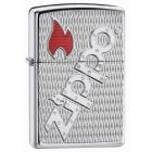 Bolted Armor Zippo Lighter in Polished Chrome 20991