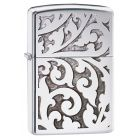 Filigree Polished Chrome Zippo Lighter 28530
