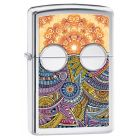 Boho 2 Zippo Lighter in High Polished Chrome 28871