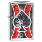 Fusion Ace Zippo Lighter in Polished Chrome 28952