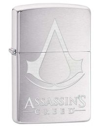 Assassins Creed Zippo Lighter in Brushed Chrome 29494