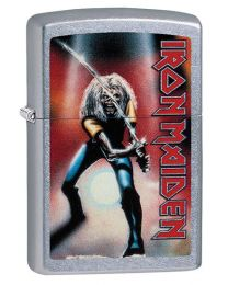 Iron Maiden Zippo Lighter - Japan in Street Chrome 29575