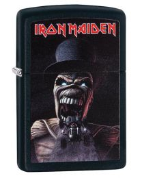 Iron Maiden Zippo Lighter - Wildest Dreams in Black Matte 29576