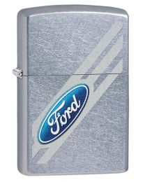 Ford Logo Zippo Lighter in Street Chrome 29577