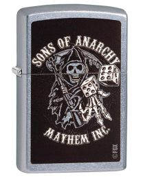 Sons Of Anarchy Reaper Dice Zippo Lighter 29582