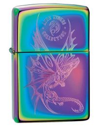 Anne Stokes Dragon Zippo Lighter in Spectrum 29586