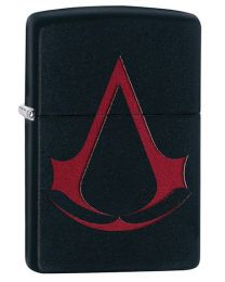 Assassins Creed Zippo Lighter in Black Matte 29601