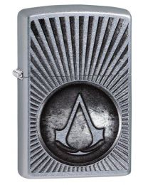 Assassins Creed Zippo Lighter in Street Chrome 29602