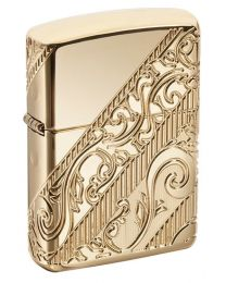 2018 Zippo Lighter Collectible Of The Year Golden Scroll Lighter 29653
