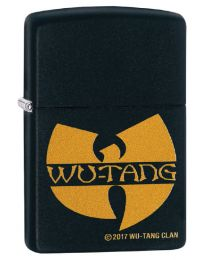 Wu-Tang Clan Logo Zippo Lighter in Matte Black 29711