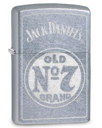 Jack Daniels Old No 7 Zippo Lighter in Street Chrome 29757