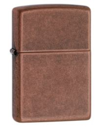 Antique Copper Zippo Lighter 301FB