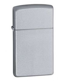 Slim Satin Chrome Zippo Lighter 1605