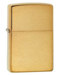 Brushed Brass Armor Zippo Lighter 168