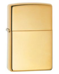 High Polished Brass Armor Zippo Lighter 169
