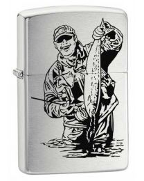 Fisherman Zippo Lighter 200FISH3